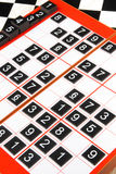 Sudoku stock fotografie