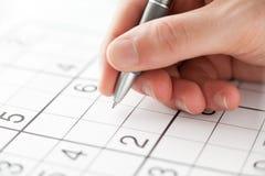 Sudoku Arkivbild