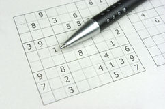 Sudoku royaltyfria foton