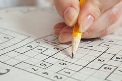 Sudoku Obrazy Royalty Free