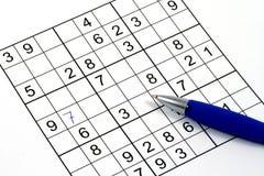 Sudoku Immagine Stock
