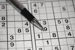 Sudoku Obraz Stock