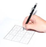 sudoku στοκ εικόνες