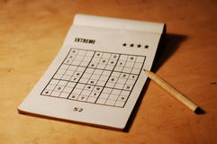 Sudoku Photographie stock