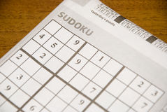 Sudoku Royalty Free Stock Photos