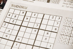 Sudoku Royalty Free Stock Images