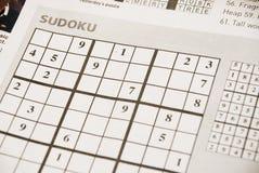 sudoku Immagini Stock Libere da Diritti