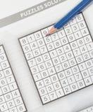 Sudoku Stockfoto