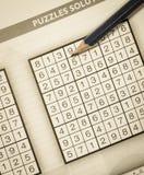 Sudoku Lizenzfreie Stockfotografie