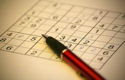 Sudoku Stock Afbeeldingen