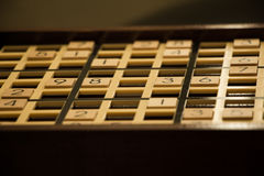 Sudoku-Brett Stockfoto