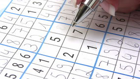 Sudoku Royalty Free Stock Photography