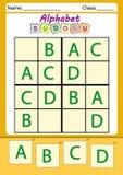 Sudoku divertido de la imagen para los niños Imagen de archivo