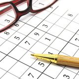 Sudoku game Royalty Free Stock Images