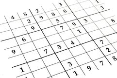 Sudoku game Stock Photo