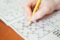 Sudoku Stock Photo
