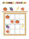 Sudoku-Jüngeres Stockfotos