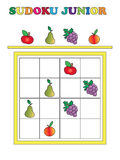 Sudoku junior Royalty Free Stock Images