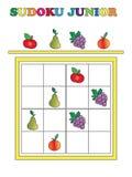 Sudoku junior royalty free stock images
