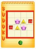 Sudoku para los cabritos 3 Fotografía de archivo