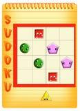 Sudoku pour les gosses 6 Photographie stock