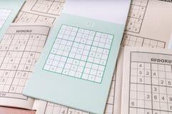 Sudoku puzzle game Royalty Free Stock Photo
