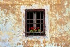 Sudtirol vintage window Royalty Free Stock Image