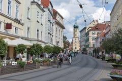 Sudtiroler Platz in Graz, Austria royalty free stock image