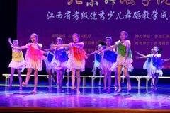 Sueñe despierto la exposición de enseñanza de clasificación Jiangxi del logro de los niños de la prueba del cielo de Pekín de la  Imagen de archivo libre de regalías