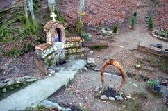 Sueño BG del valle de la montaña de Rodopi Foto de archivo libre de regalías