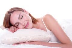 Sueño bueno y de la salud Imagen de archivo