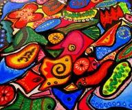 Sueño colorido Fotos de archivo