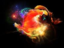 Sueño con las nebulosas del diseño Imagenes de archivo