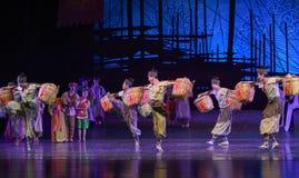 """Sueño de bambú del """"The del drama de la danza-danza del cajón del  de seda marítimo de Road†Imagenes de archivo"""