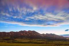 Sueño de Boulder Colorado imagen de archivo libre de regalías