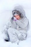 Sueño de congelación Fotos de archivo libres de regalías