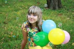 Sueño de la chica joven Fotos de archivo