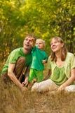 Sueño de la familia Imagen de archivo libre de regalías