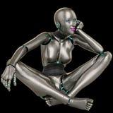 Sueño de la muchacha del robot