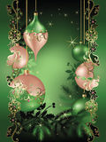 Sueño de la Navidad ilustración del vector