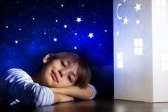 Sueño de la noche imagen de archivo