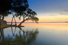 Sueño de la puesta del sol Fotos de archivo libres de regalías