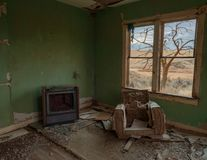 Sueño de la TV Foto de archivo libre de regalías