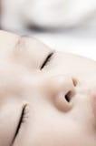 Sueño del bebé Imagen de archivo libre de regalías