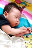 Sueño del bebé imagenes de archivo
