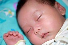 Sueño del bebé Fotos de archivo libres de regalías