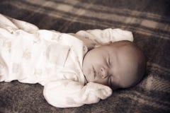 Sueño del bebé foto de archivo