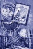 Sueño del collage transparente del grunge foto de archivo libre de regalías