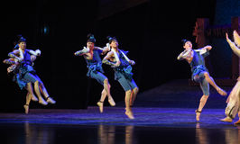 """Sueño del """"The del drama de Dance-Dance del marinero del  de seda marítimo de Road†Fotografía de archivo"""
