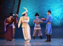 """Sueño del """"The del drama de Hamadi-Dance del hombre de negocios de Arabia del  de seda marítimo de Road†Fotos de archivo libres de regalías"""